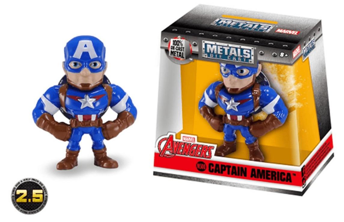 Metals Die Cast(Mini): Capitão América (Captain America) M500 - DTC