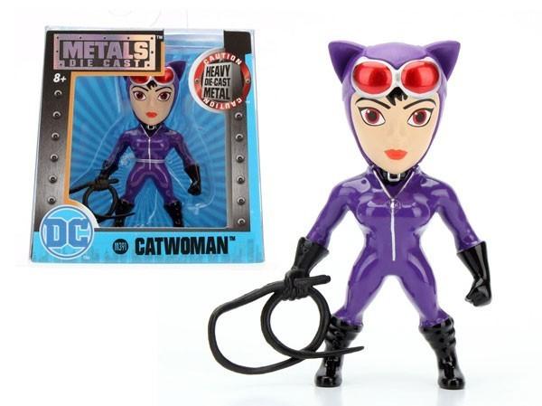 Metals Die Cast (Mini): Catwoman (M391) Roxa - DTC