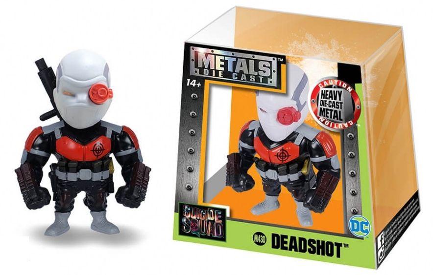 Metals Die Cast (Mini) Deadshot: Esquadrão Suicida (Suicide Squad) (M430) - DTC