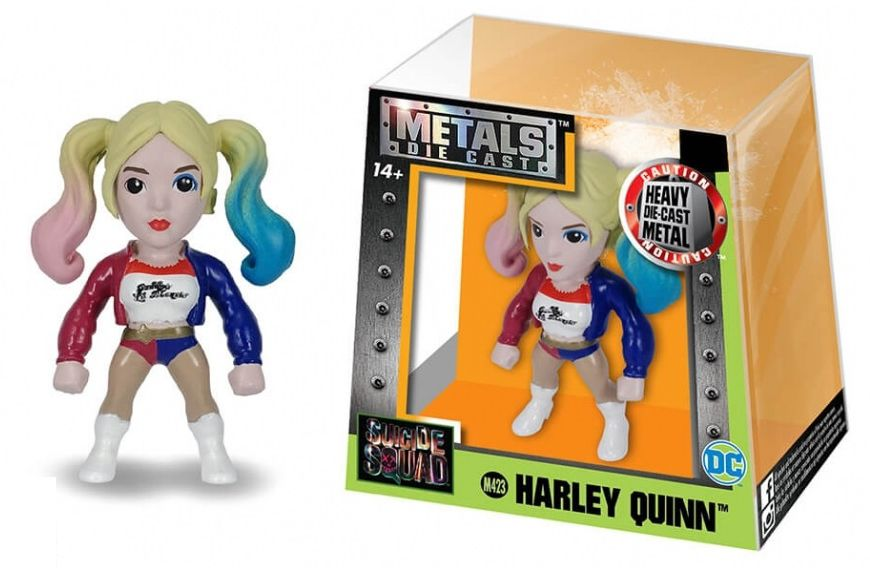 Metals Die Cast (Mini) Harley Quinn: Esquadrão Suicida (Suicide Squad) (M423) - DTC