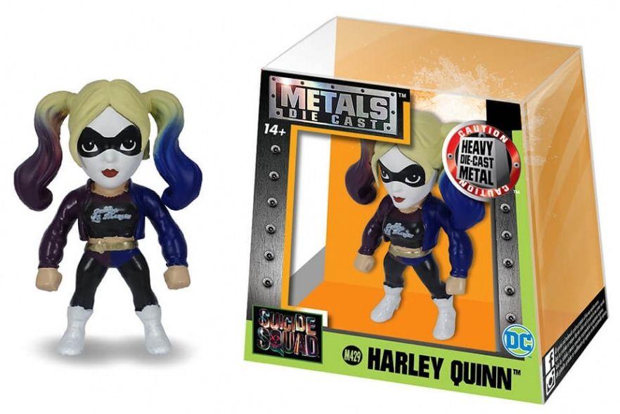 Metals Die Cast (Mini) Harley Quinn: Esquadrão Suicida (Suicide Squad) (M429) - DTC