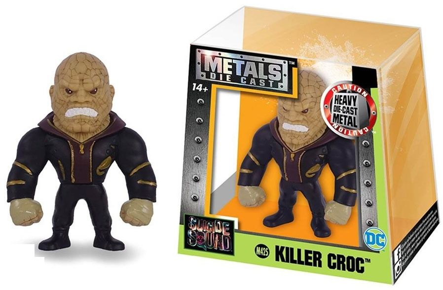 Metals Die Cast (Mini) Killer Croc: Esquadrão Suicida (Suicide Squad) (M425) - DTC