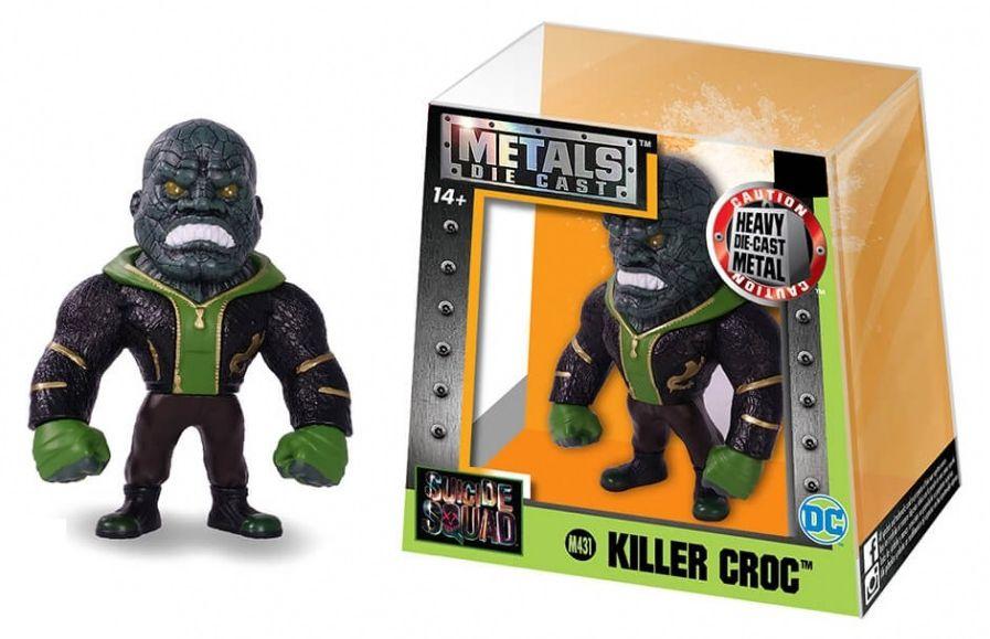 Metals Die Cast (Mini) Killer Croc: Esquadrão Suicida (Suicide Squad) (M431) - DTC