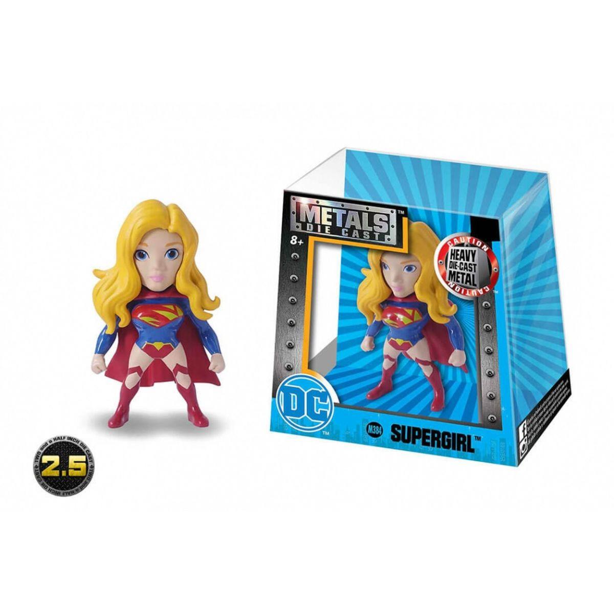 Metals Die Cast (Mini): Supergirl (M384) Uniforme Clássico - DTC