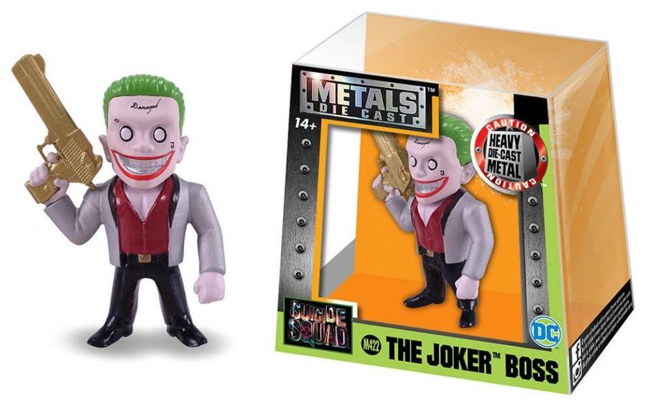 Metals Die Cast (Mini) The Joker Boss: Esquadrão Suicida (Suicide Squad) (M422) - DTC
