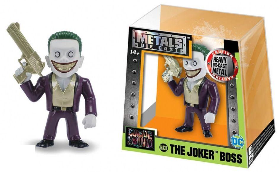 Metals Die Cast (Mini) The Joker Boss: Esquadrão Suicida (Suicide Squad) (M428) - DTC