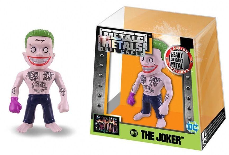 Metals Die Cast (Mini) The Joker: Esquadrão Suicida (Suicide Squad) (M421) - DTC
