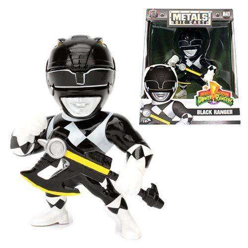 Metals Die Cast  Ranger Preto: Power Rangers (M401) - DTC