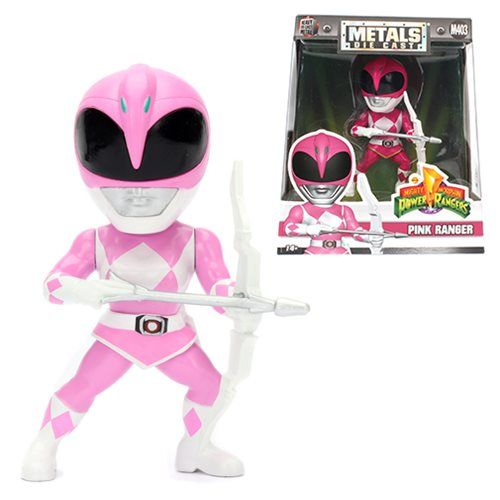 Metals Die Cast  Ranger Rosa: Power Rangers (M403) - DTC