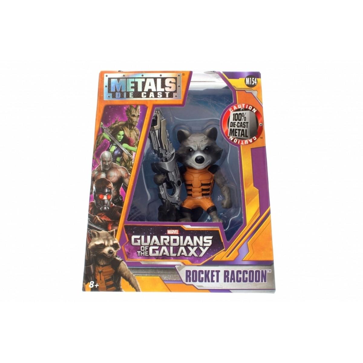 Metals Die Cast Rocket Raccoon: Guardiões da Galáxia (M154) - DTC