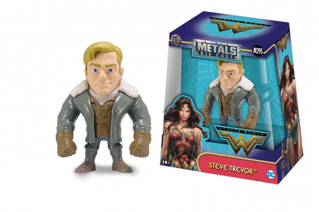 Metals Die Cast Steve Trevor: Mulher-Maravilha (Wonder Woman) (M295) - DTC