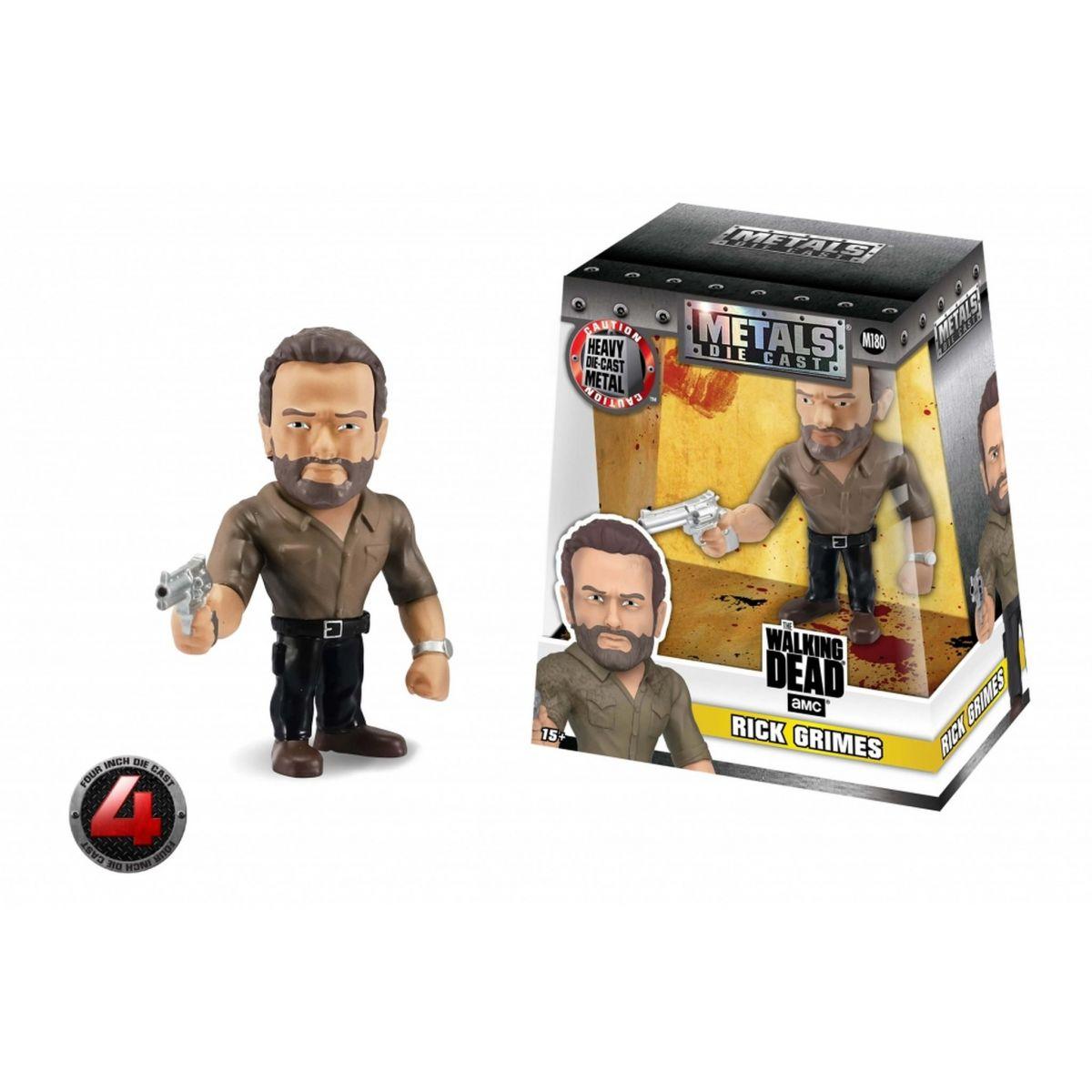 Metals Die Cast Rick Grimes: The Walking Dead (M180) - DTC