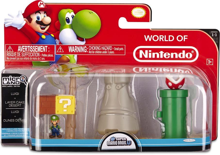 Micro Land Super Mário Ilha e Personagens: Luigi - DTC
