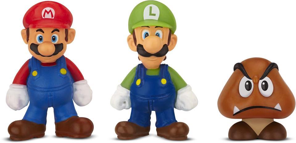 Micro Land Super Mário: Mario Luigi Goomba - DTC