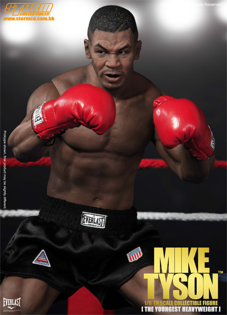 Action Figure Mike Tyson SM-1501 Escala 1/6 - Storm Collectibles
