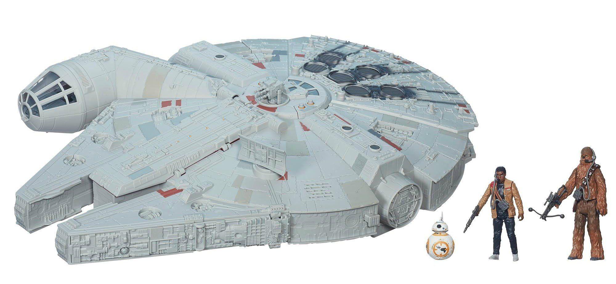 Millennium Falcon em Ação na Batalha: Star Wars O Despertar da Força - Hasbro