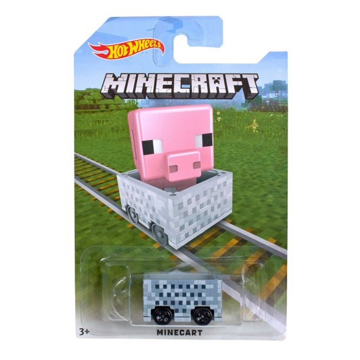 Minecraft: Minecart Pig Car - Hot Wheels