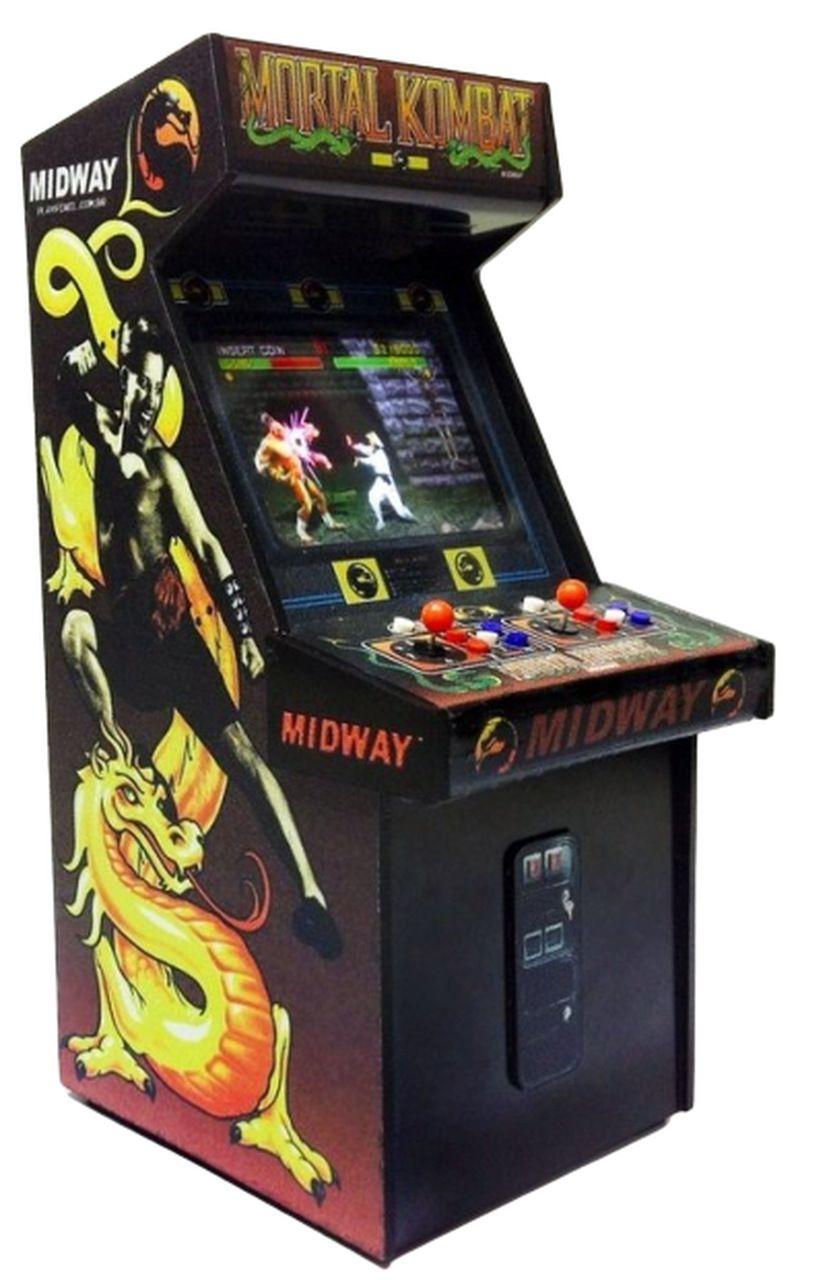 Mini Arcade Decorativo (Screen LED/Light Up): Mortal Kombat