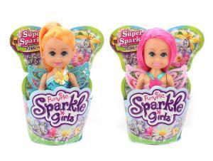 Mini Boneca Fada das Flores Super Brilhante: Sparkle Girlz (Sortido) - DTC