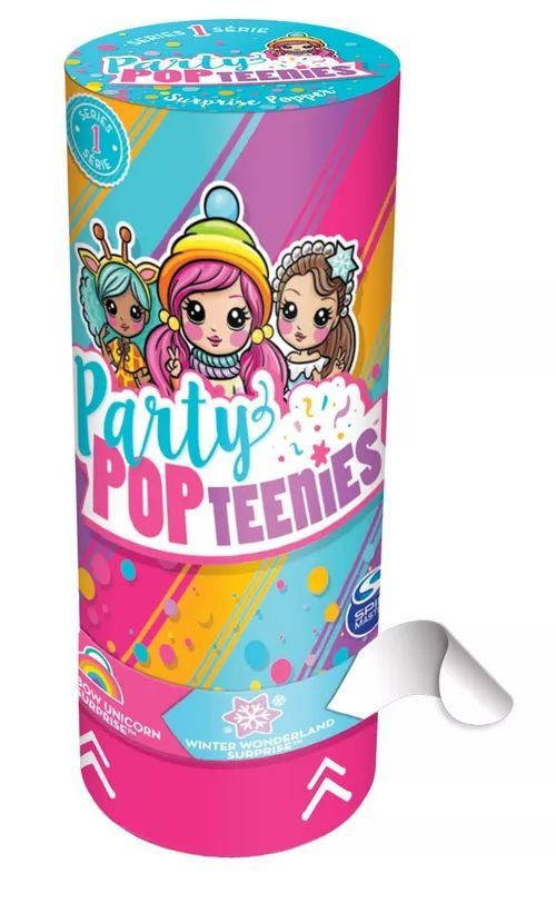 Mini Boneca Surpresa Poppers: Party Pop Teenies - Sunny
