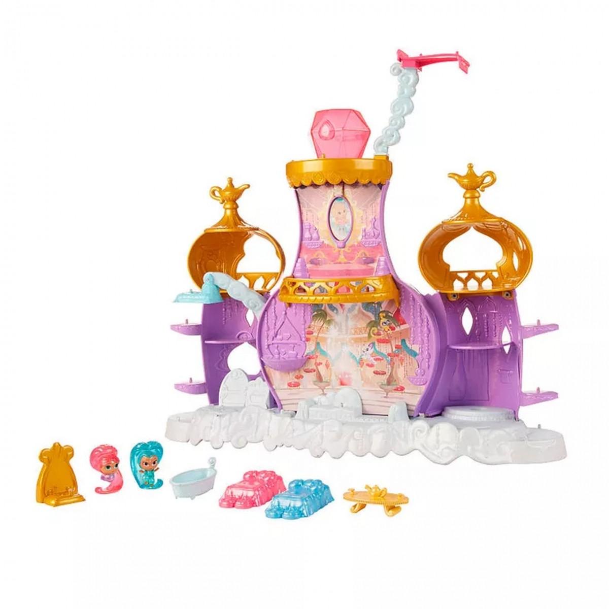 Mini Bonecas e Playset: Palácio Mágico dos Gênios Shimmer & Shine