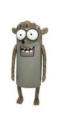 Mini Boneco Rigby: Regular Show - Jazwares