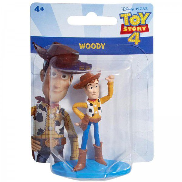 Mini Boneco Woody: Toy Story 4 - Mattel