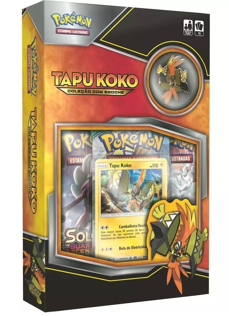 Card  Mini Box Pokemon: Tapu Koko - Copag