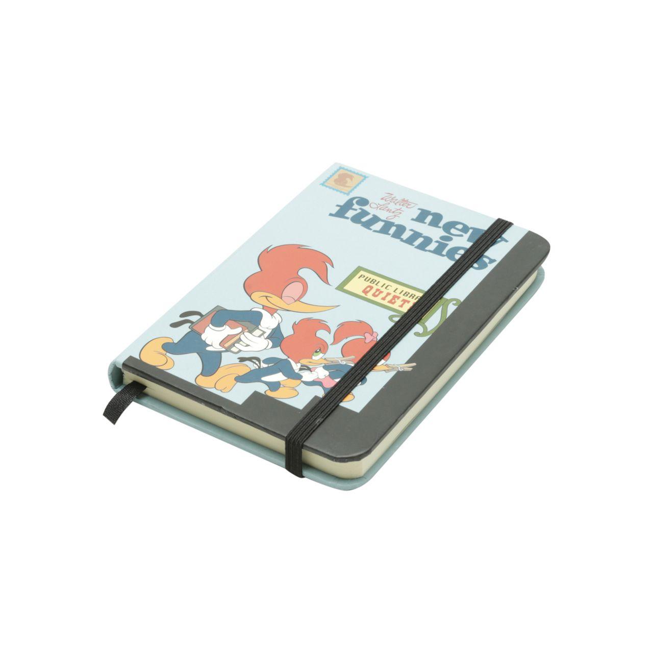 Mini Caderneta de Anotações Pica-Pau (Woody Woodpecker) (A6) - Urban