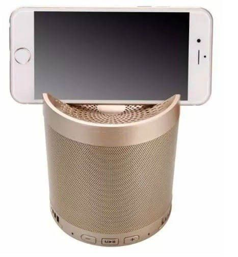 Mini Caixa De Som Portátil Bluetooth - HF-Q38 (Dourado)
