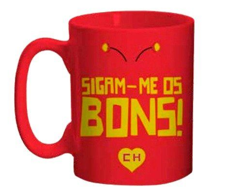 Mini Caneca Chapolin: Sigam-me os Bons - (135ML)