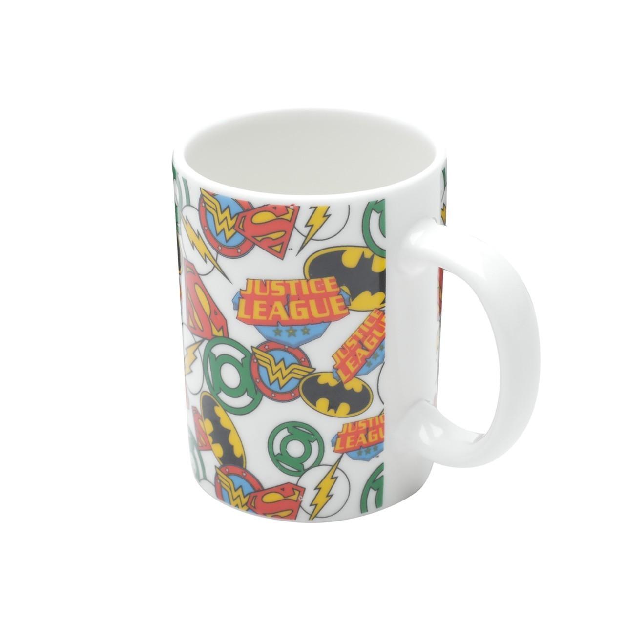 Mini Caneca de Porcelana: Dc Logos Dc Comics  - Urban