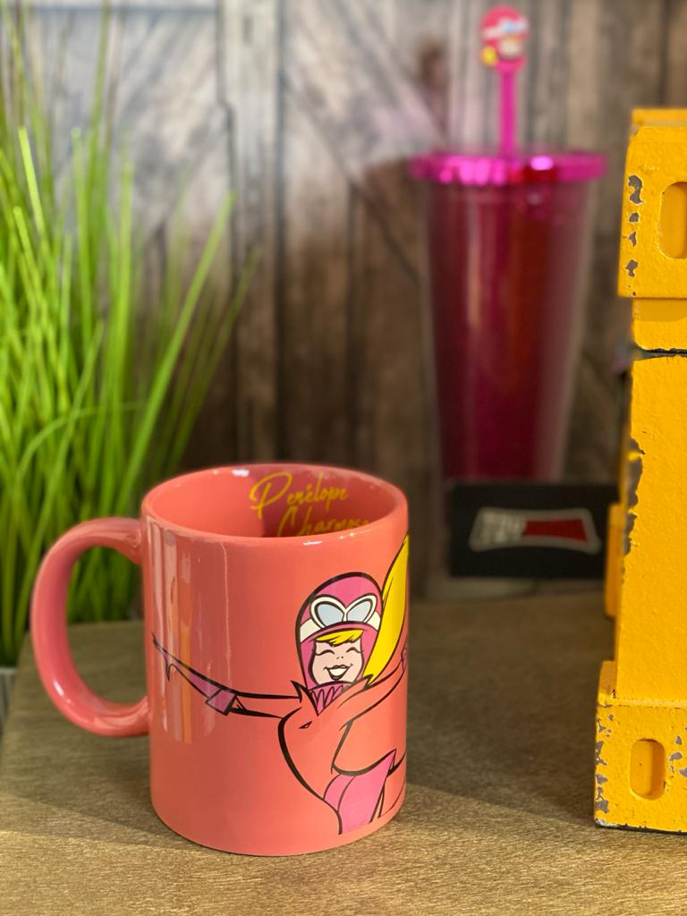 Caneca de Porcelana: '' Life is Better in Pink ''  Penelope Chamosa - Urban