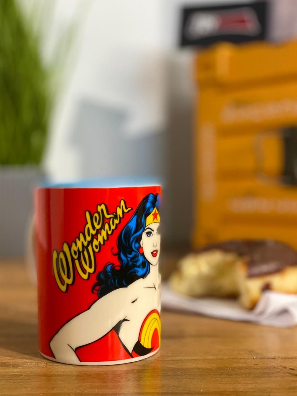 Mini Caneca de Porcelana: Mulher Maravilha ( Wonder Woman ) - Urban
