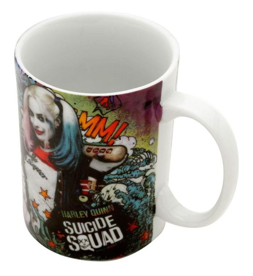 Caneca Harley Quinn (Alerquina): Esquadrão Suicida (Suicide Squad) Dc Comics