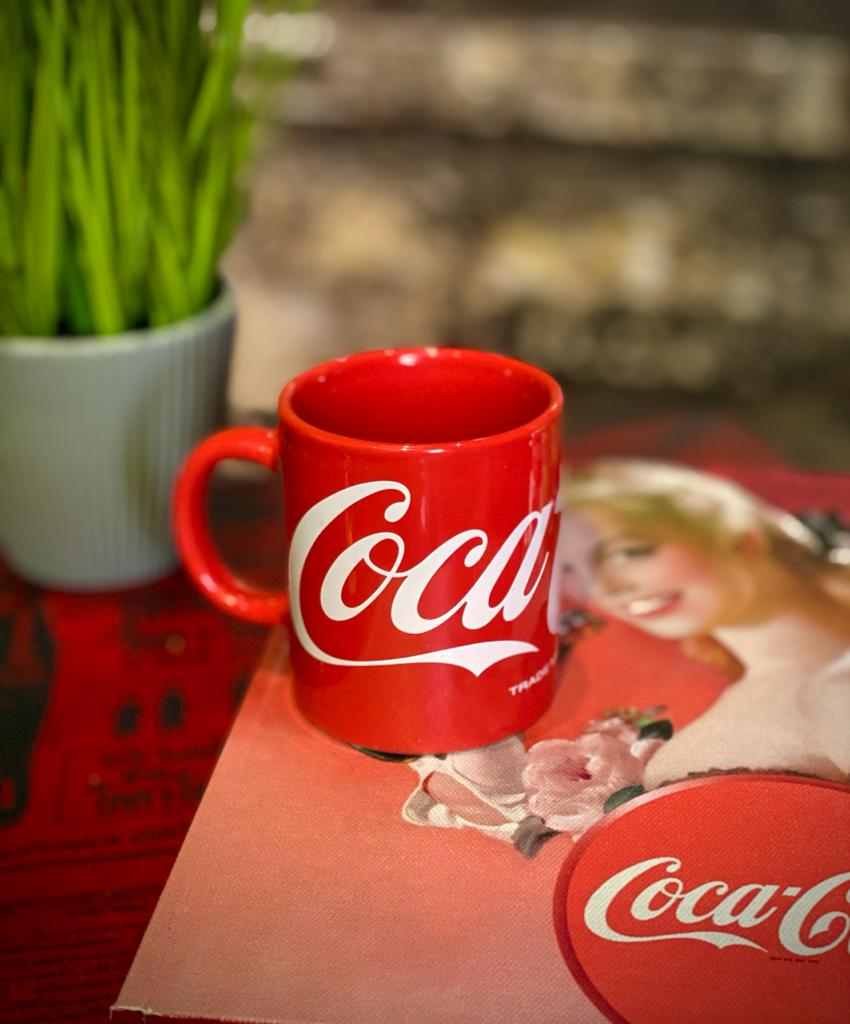 Mini Caneca: Logo Retro Coca-Cola (140ml)