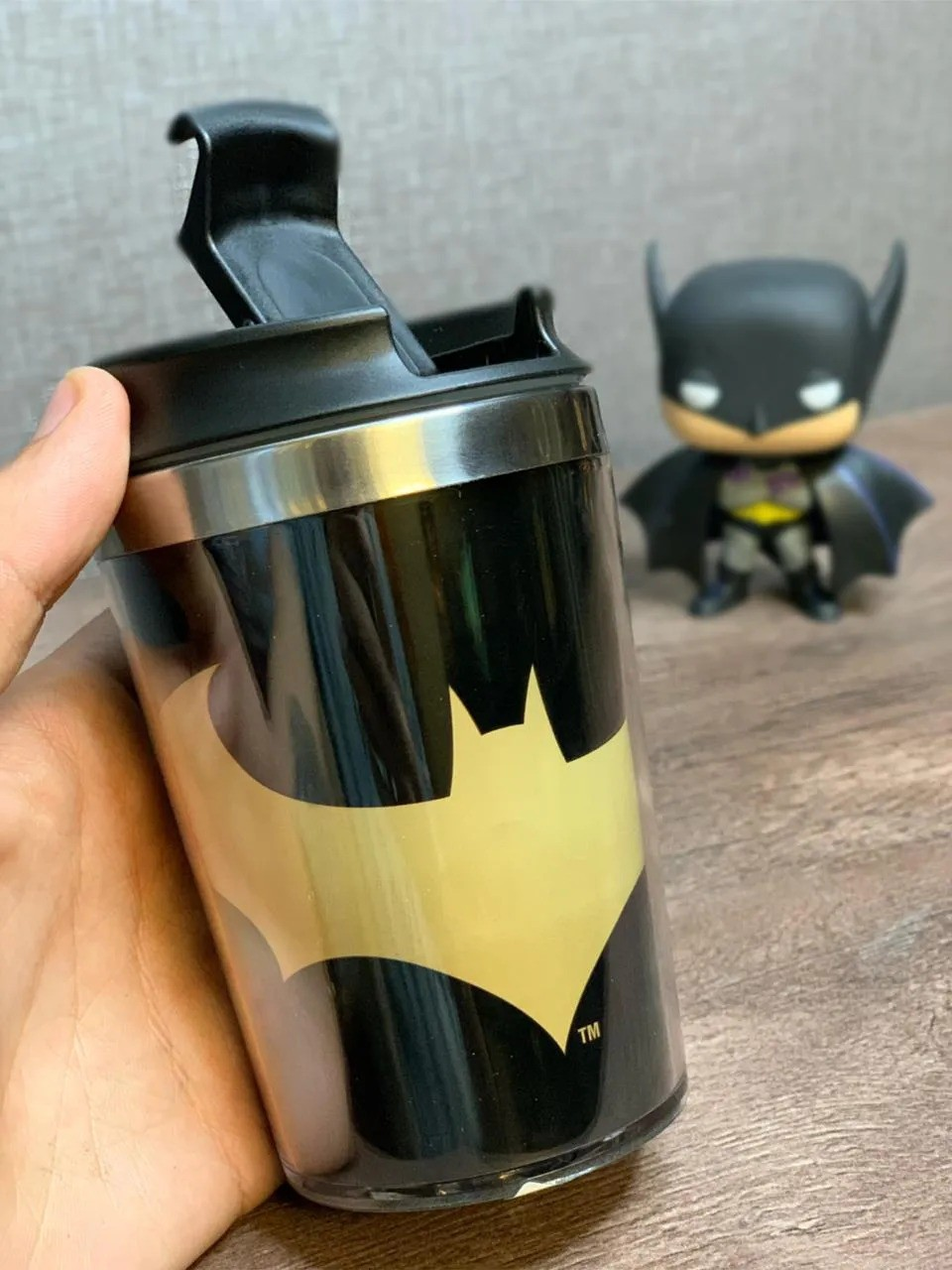 Mini Copo Térmico Batman: DC Comics (250ml) - Urban