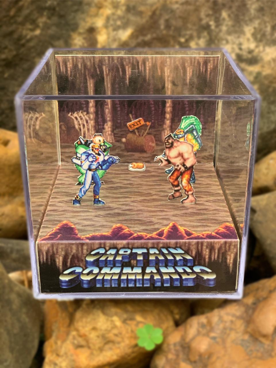 Mini Cubo 3D: Captain Commando: (Fase 2 )