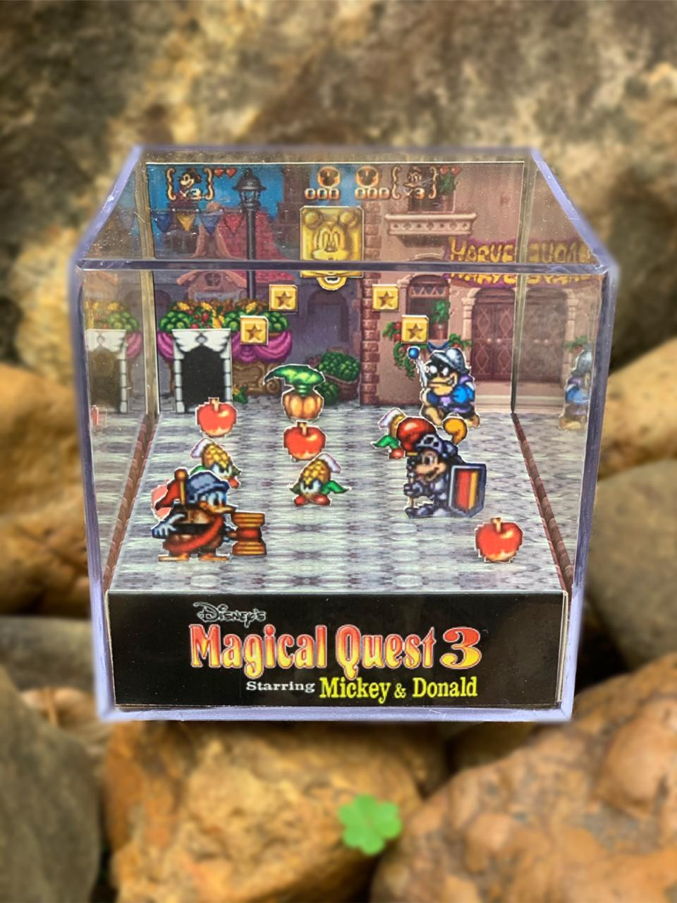 Mini Cubo 3D: Magical Quest 3 Starring Mickey & Donald: (Fase 1 )