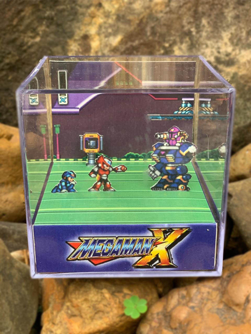 Mini Cubo 3D: Megaman X: