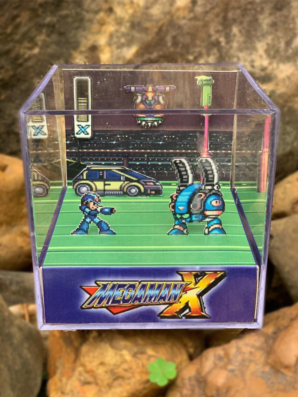 Mini Cubo 3D: Megaman X: (Fase 1 )