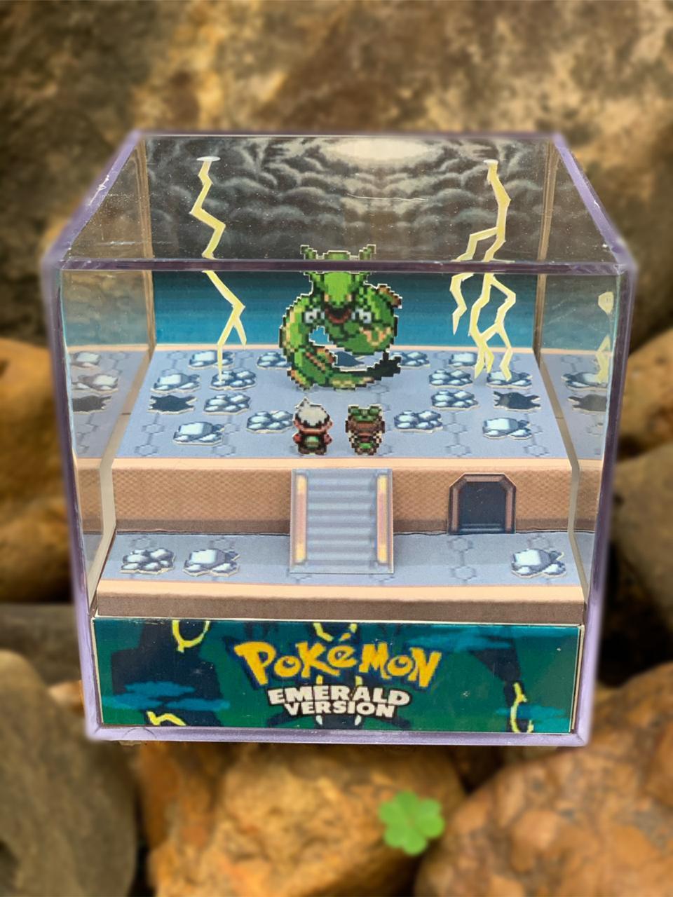 Mini Cubo 3D: Pokemon Emerald Version: