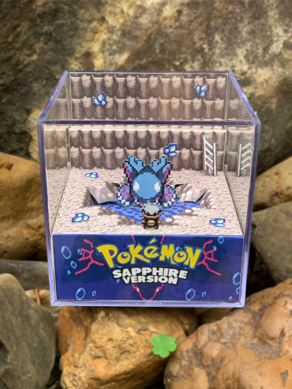 Mini Cubo 3D: Pokemon Sapphire Version: