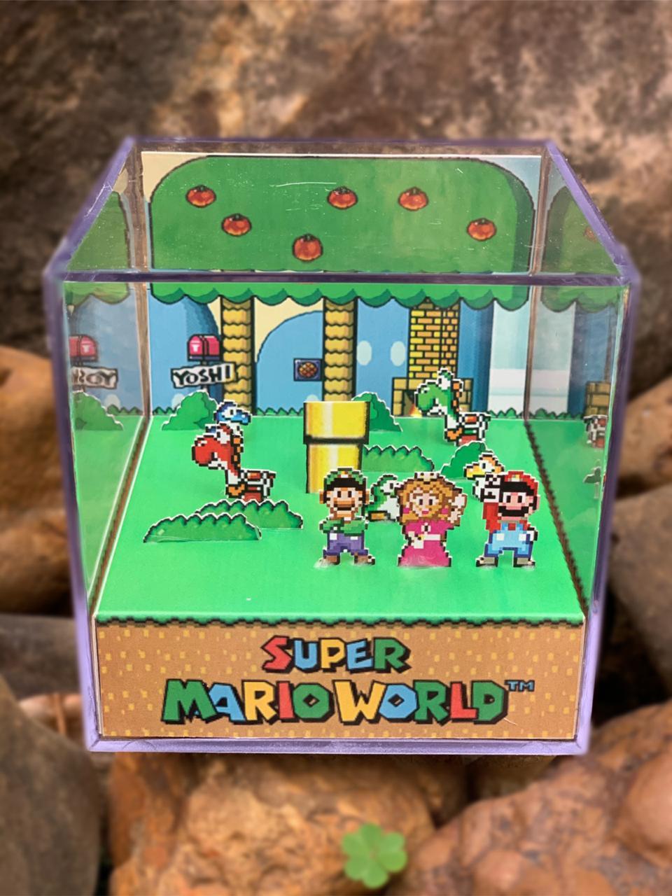 Mini Cubo 3D: Super Mario World (Yoshi´s House)
