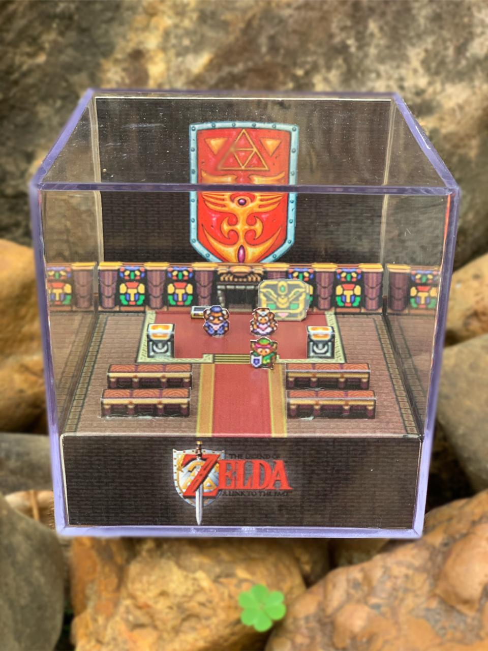 Mini Cubo 3D: The Legends Of Zelda: A Link To The Past (Snes)