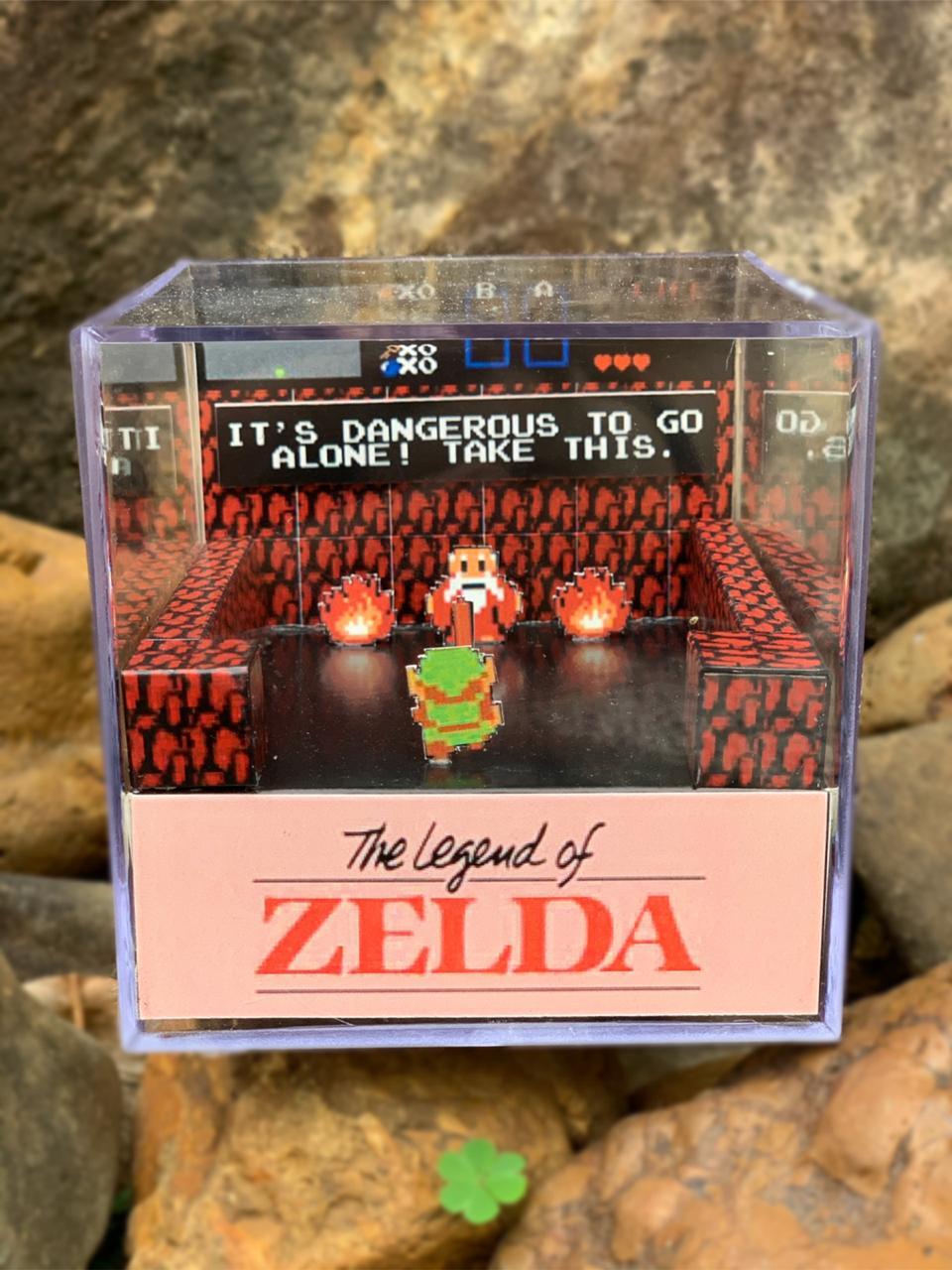Mini Cubo 3D: The Legends Of Zelda