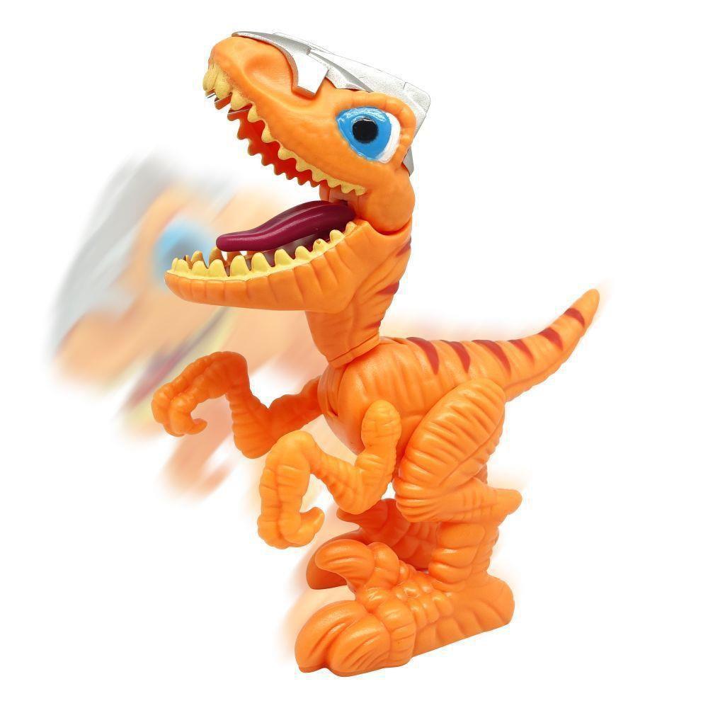 Mini Dinossauro Comilão Laranja (Junior Megasaur Cyberworld) - FUN
