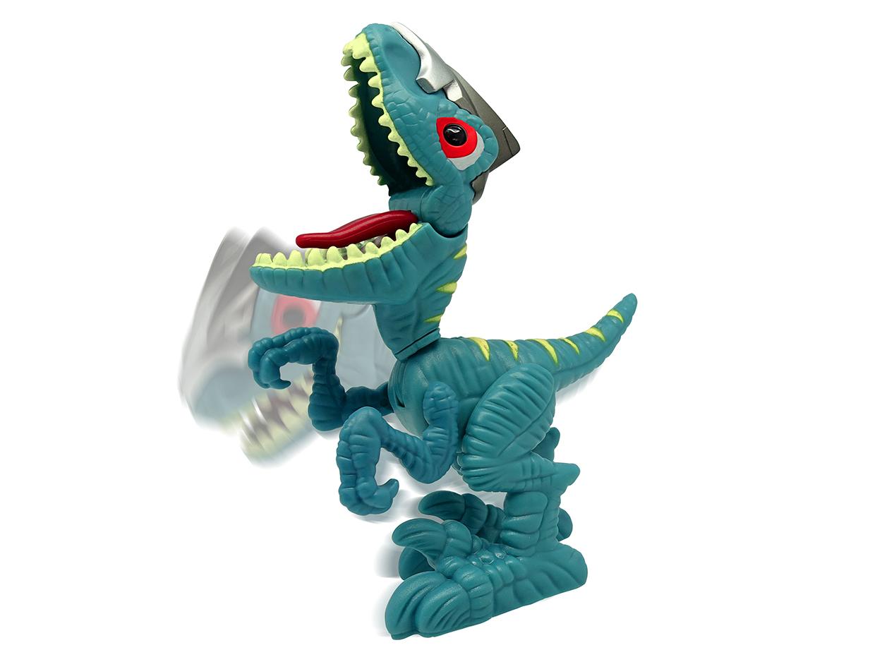 Mini Dinossauro Comilão Verde (Junior Megasaur Cyberworld) - FUN