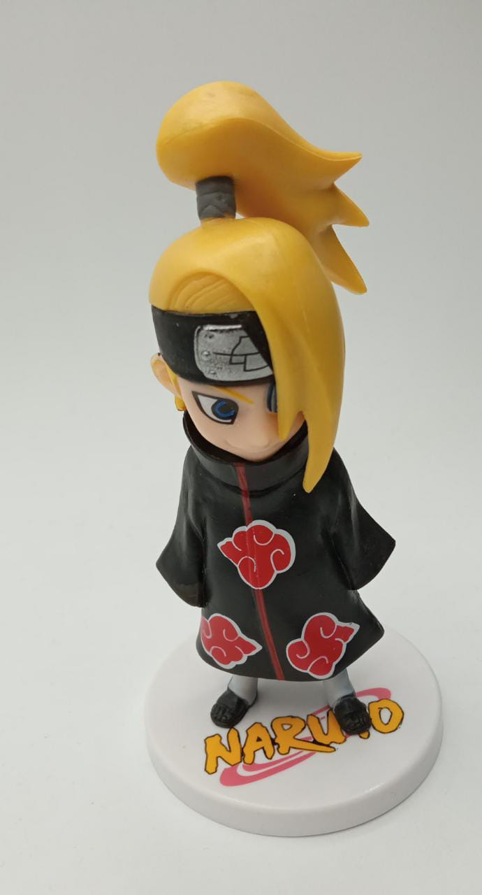 Mini Estátua Deidara: Naruto Shippuden