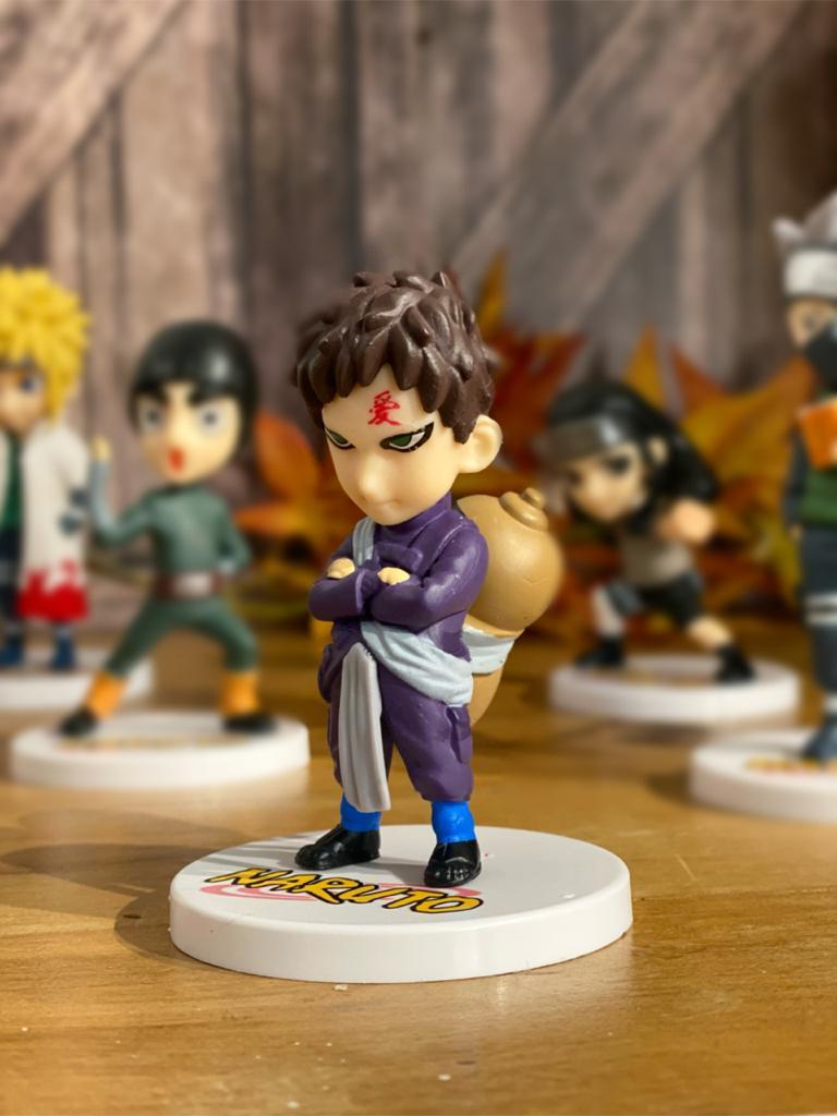 Mini Estátua Gaara: Naruto Clássico